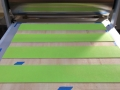 """Sharp & Close II"" being printed"